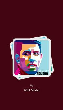 Sergio Kun Aguero Wallpapers HD poster