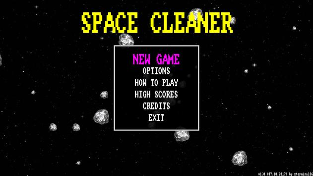 Space Cleaner poster