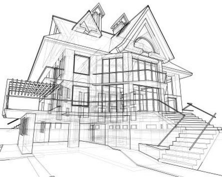 Architecture House Drawing screenshot 1