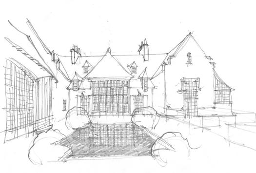 Architecture House Drawing screenshot 5