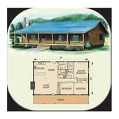 DIY Log Home Plans icon