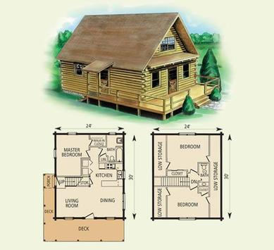 DIY Log Home Plans screenshot 1