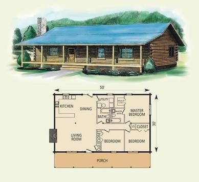 DIY Log Home Plans screenshot 4
