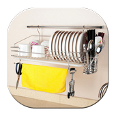 Hanging Plate Rack icon