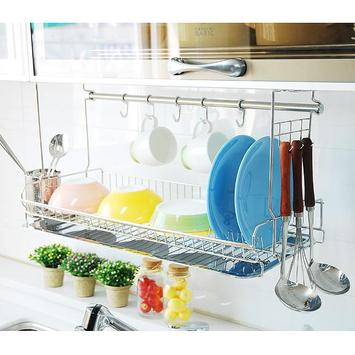 Hanging Plate Rack poster