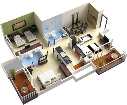 3D Home Design Ideas screenshot 1