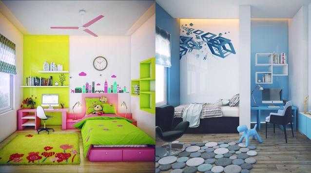 350 Kids - Design & Decor Room poster