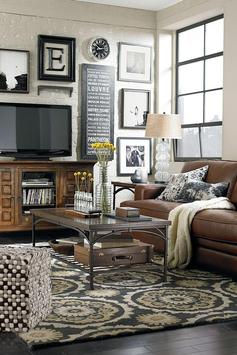 350 Living Room Decorating Ideas poster