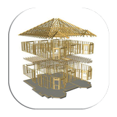 150 Roof Framing Design icon
