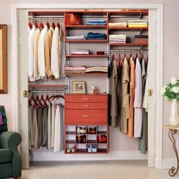 250 Small Closet Organisers poster