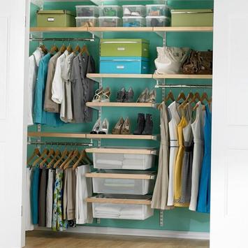 250 Small Closet Organisers screenshot 1