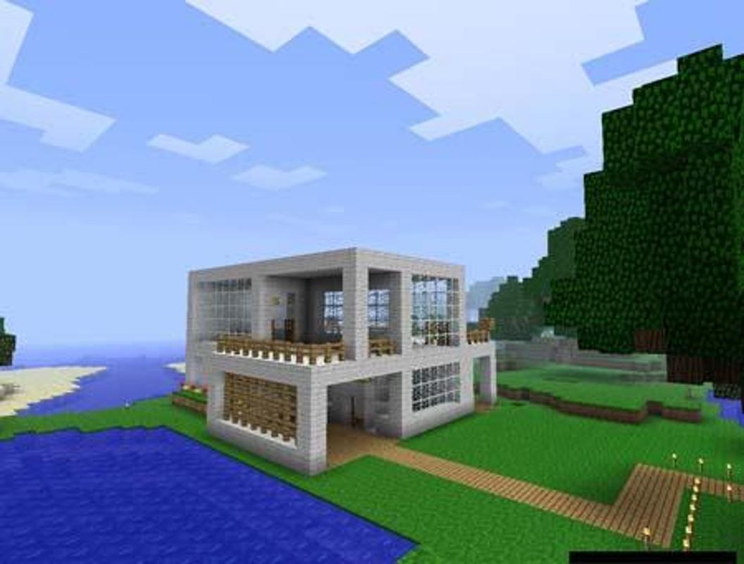 Modernes Haus Für Minecraft Für Android APK Herunterladen - Minecraft hauser installieren