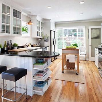 Modern Kitchen Decorating Ideas screenshot 2