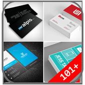 Name Card Design icon