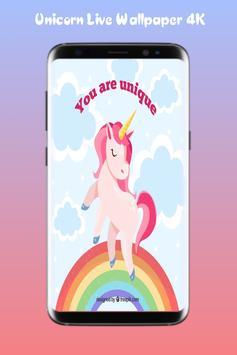 Unicorn Live Wallpaper 4K apk screenshot