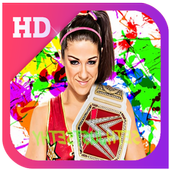 bayley wwe Wallpaper icon
