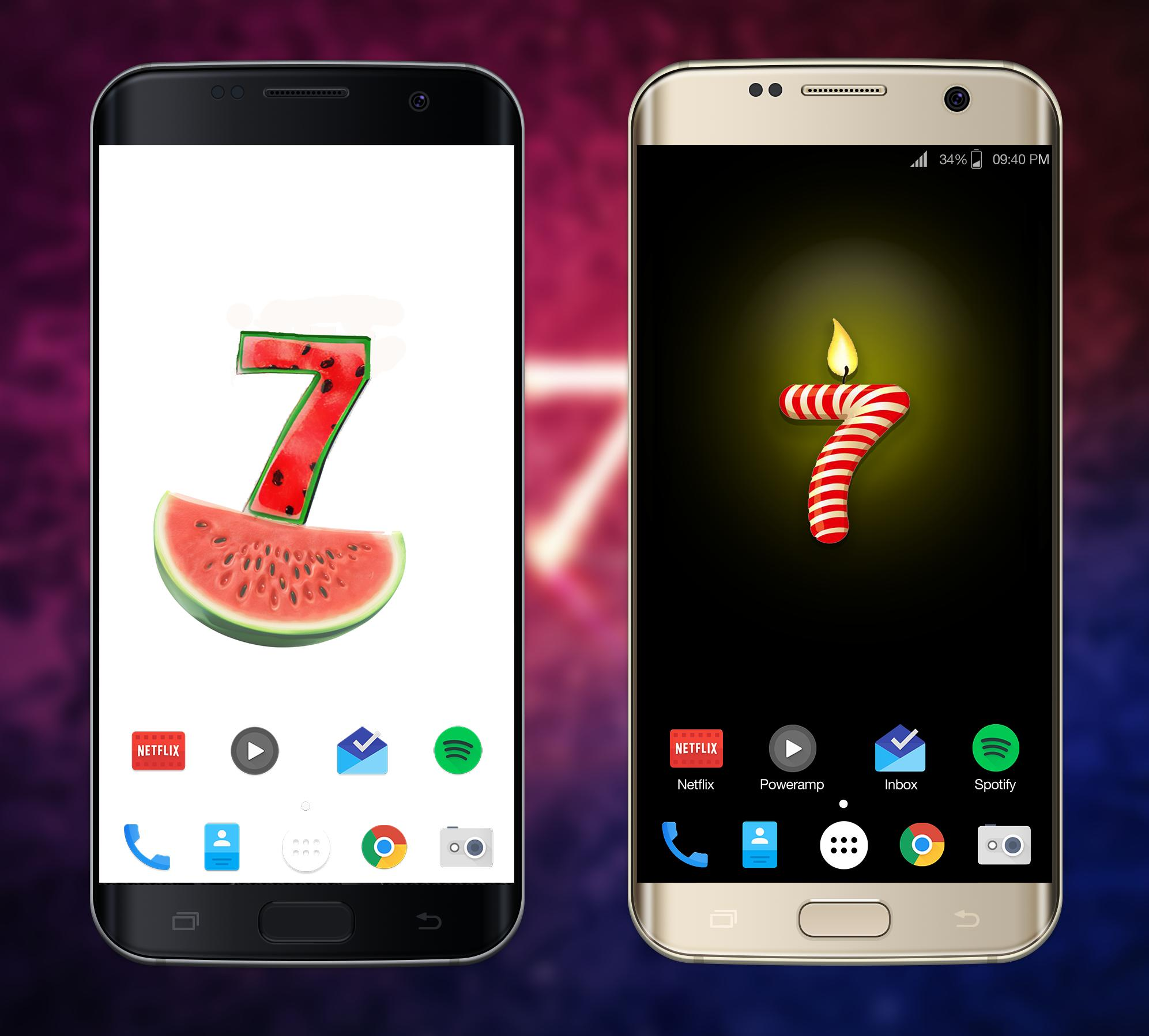 Number 7 Wallpaper Hd For Android Apk Download