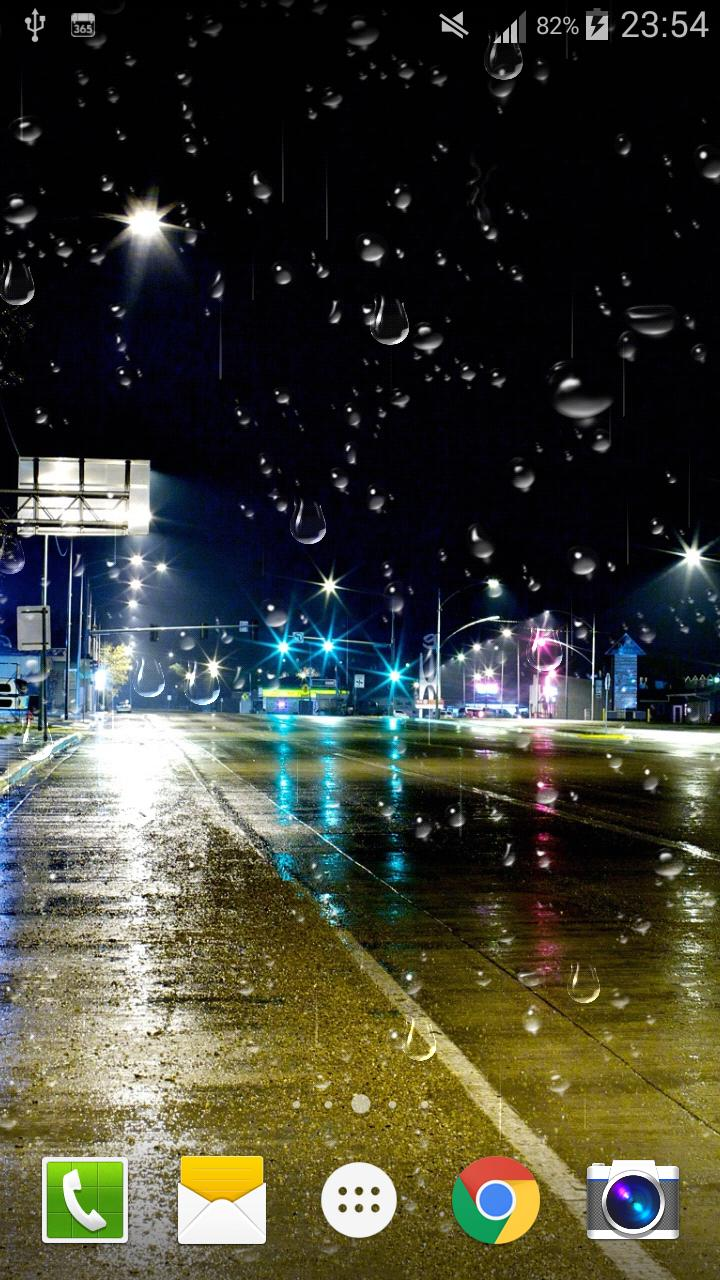 City Rain Live Wallpaper For Android Apk Download
