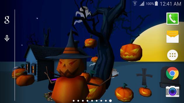 3D Halloween Live Wallpaper screenshot 4