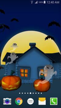 3D Halloween Live Wallpaper screenshot 6