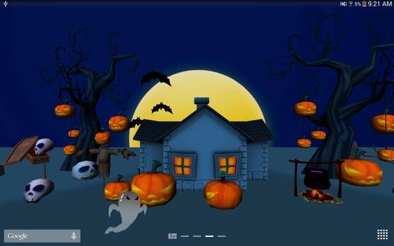 3D Halloween Live Wallpaper screenshot 9