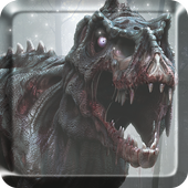 Dinosaur Terrible Live Wallpaper Free icon