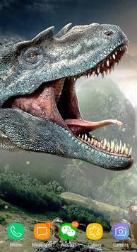 Dinosaur Terrible Live Wallpaper Free screenshot 2