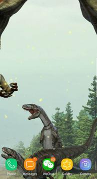 Dinosaur Terrible Live Wallpaper Free screenshot 7