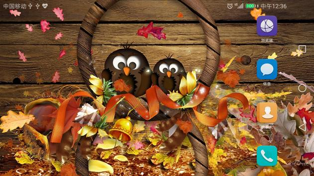 2017 Happy Thanksgiving Live Wallpaper Free screenshot 3