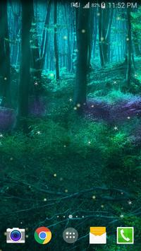 Fireflies Live Wallpaper screenshot 4
