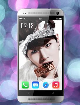 BTS Wallpapers KPOP – HD Launcher screenshot 1