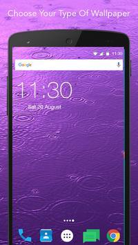 Live Color Rain Wallpaper apk screenshot