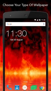 Hell Fire Wallpaper apk screenshot