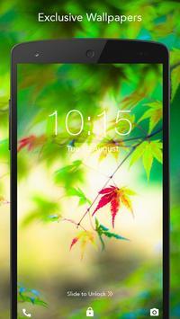 Live Fresh Leaves Wallpaper apk screenshot