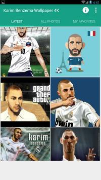 Karim Benzema Wallpaper 4K poster