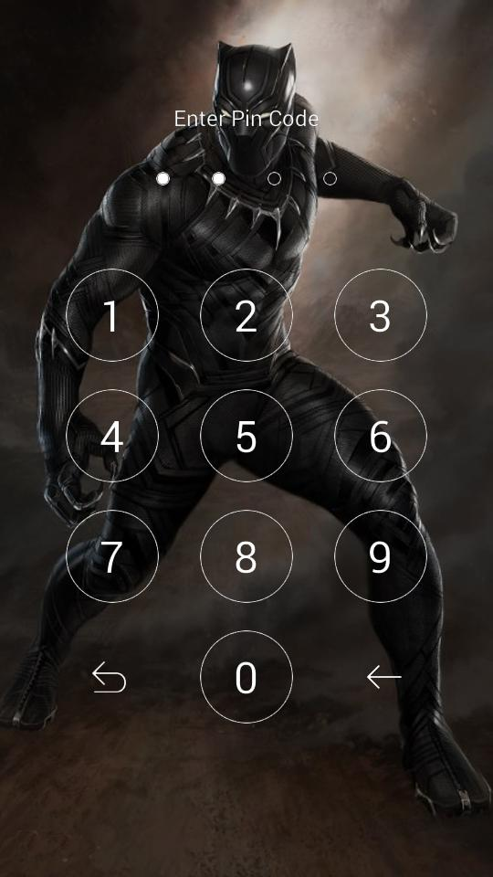 Black Panther Lock Wallpaper For Android Apk Download