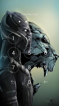 Black Panther Lock Wallpaper Screenshot 11
