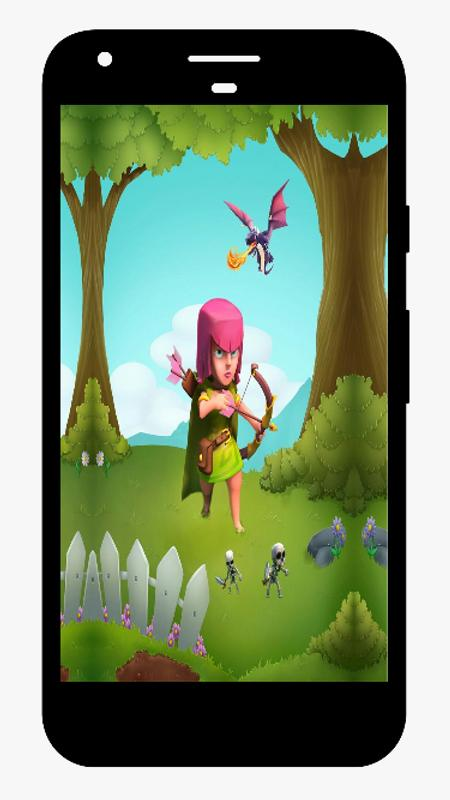 best clash coc wallpaper hd mino for android apk download