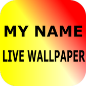 My Name Live Wallpaper icon