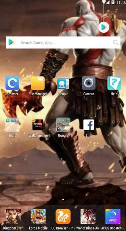 God Of War Fans Wallpaper Kratos Full Hd Pour Android Téléchargez
