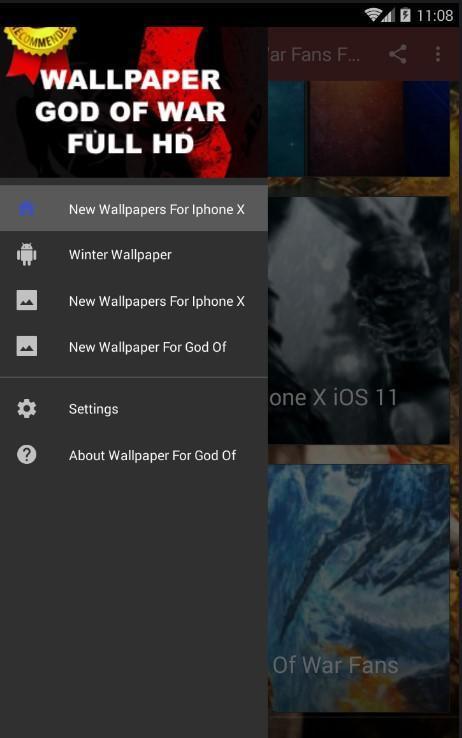 God Of War Fans Wallpaper Kratos Full Hd Für Android Apk