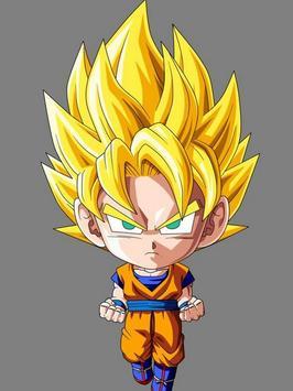 Wallpaper Goku Chibi Art screenshot 1
