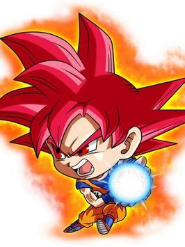 Wallpaper Goku Chibi Art screenshot 2