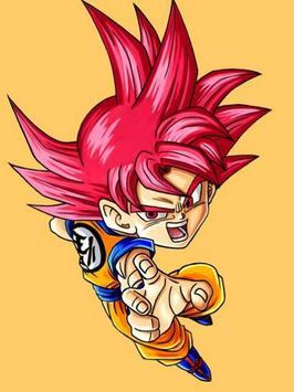 Wallpaper Goku Chibi Art screenshot 3