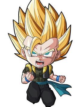 Wallpaper Goku Chibi Art screenshot 4