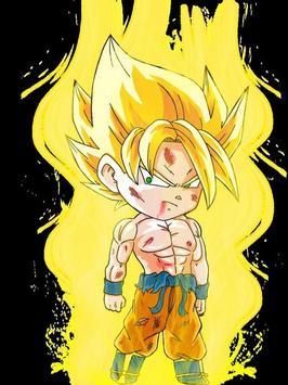 Wallpaper Goku Chibi Art screenshot 5