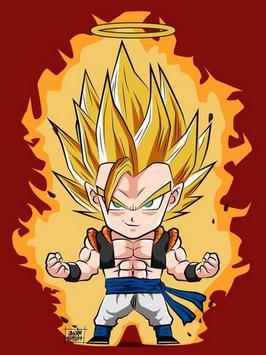 Wallpaper Goku Chibi Art screenshot 6