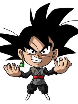 Wallpaper Goku Chibi Art screenshot 7