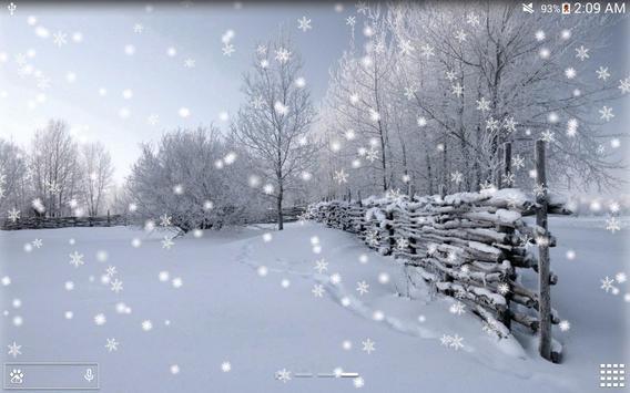 Winter Snow Live Wallpaper PRO Apk Screenshot
