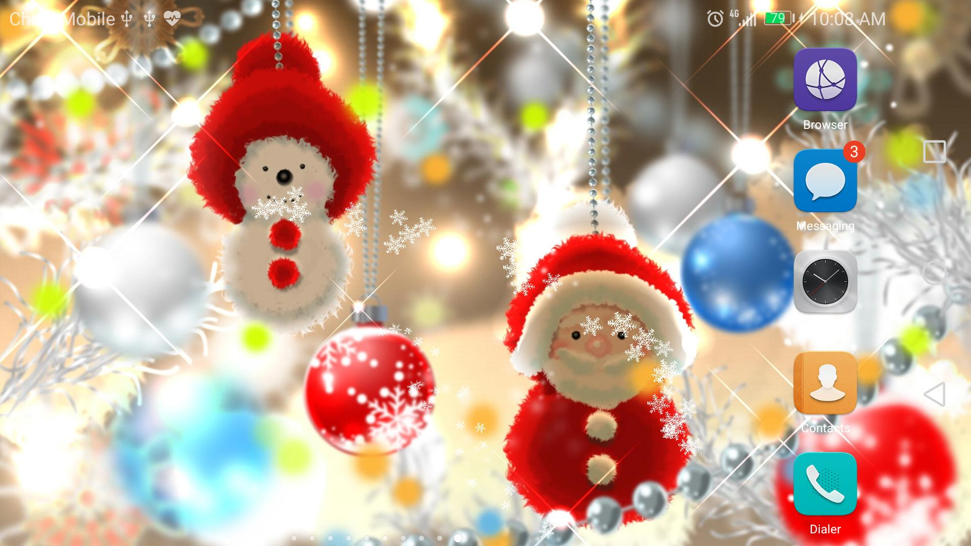 Live Wallpaper Weihnachten.Weihnachten Neon Lampe Live Wallpaper Kostenlos Für Android Apk
